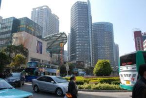 Kunming skyline